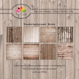 Wooden background brown