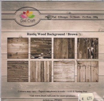 Rustiq  wood background brown