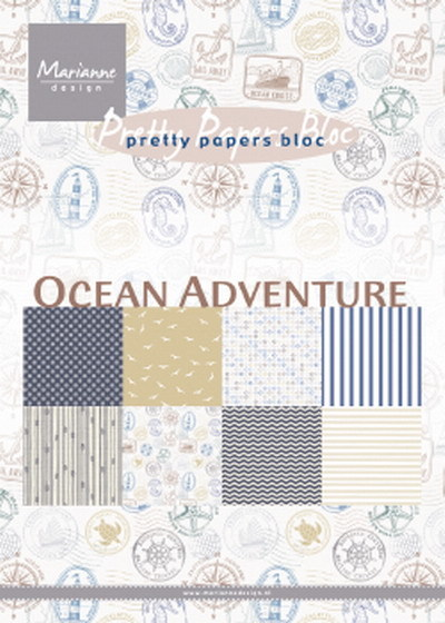 Pretty papers Oceans Adventures