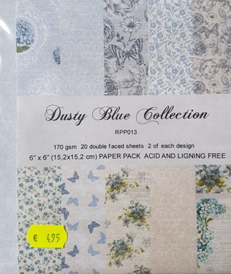 Dusty Blue collection
