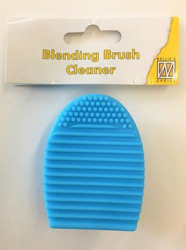 Blending brush cleaner